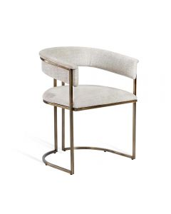 Emerson Chair - Bronze/ Dove