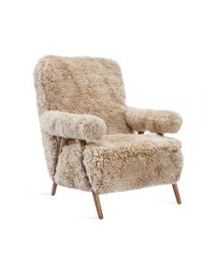 Barrett Lounge Chair - Morel Taupe