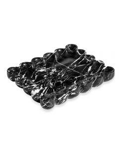 Bliss Scalloped Tray - Black
