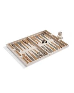 Corbin Backgammon Set - Ivory