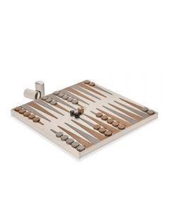 Hampton Backgammon Set - Ivory