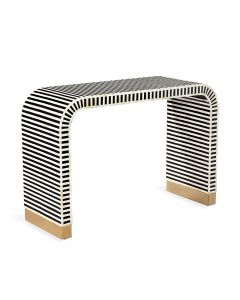 Beacon Console Table - Black