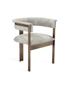 Darcy Hide Chair - Bronze