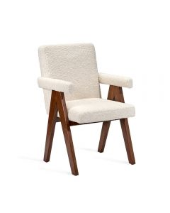 Julian Arm Chair - Boucle