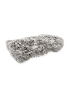 Single New Zealand Sheepskin Rug - Grey