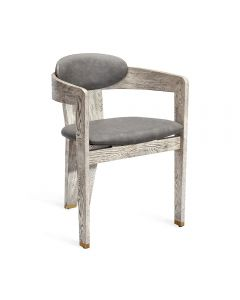 Maryl Dining Chair - Brushed Taupe