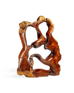 Burstyn Grande Teak Root Sculpture