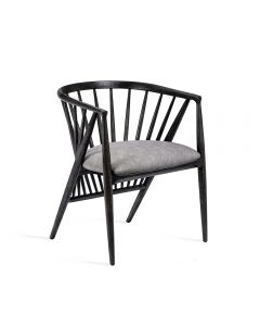 Lilou Dining Chair - Charcoal