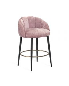 Mila Counter Stool - Violet-Rose