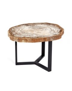 Isla Grand Petrified Wood Table