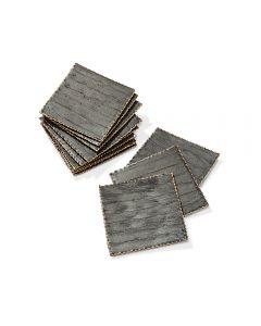 Hallie Coasters - Grey