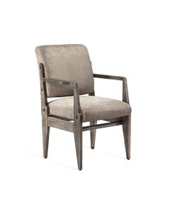 Hale Arm Chair - Rustic Grey
