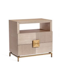Gaspard Large Bedside Chest