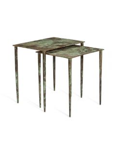 Aria Nesting Tables - Verdigiris