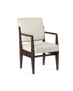 Hale Arm Chair - Dark Walnut