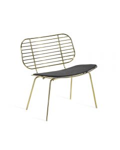 Cyrus Chair - Brass