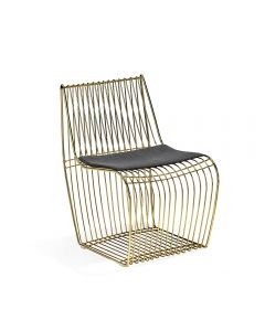 Margot Dining Chair - Brass