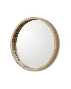 Como Small Mirror - Autumn Brown