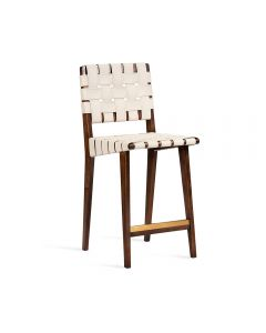 Louis Counter Stool - Walnut
