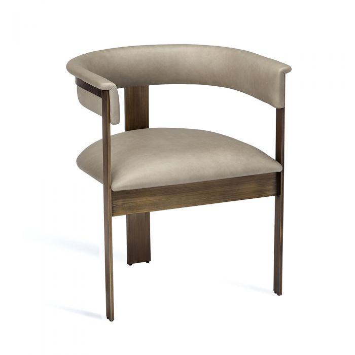 Fantastic Darcy Dining Chair Taupe Inzonedesignstudio Interior Chair Design Inzonedesignstudiocom