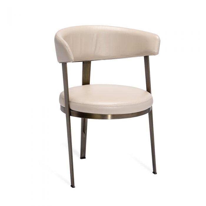 Enjoyable Adele Dining Chair Cream Machost Co Dining Chair Design Ideas Machostcouk