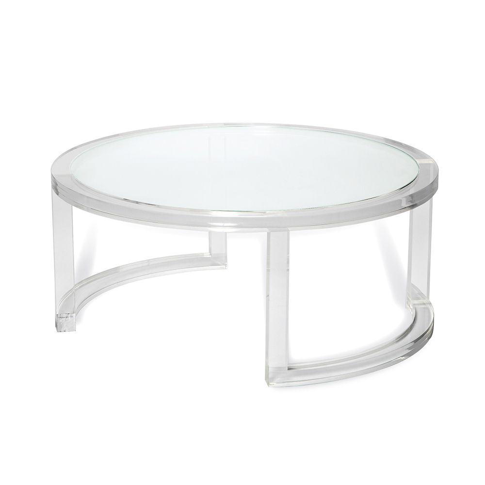 - Ava Round Cocktail Table