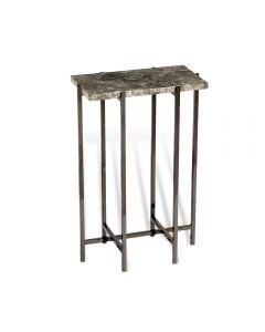 Laurent Rectangular Drink Table - Grey