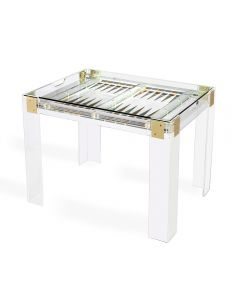 Pierre Acrylic Backgammon Table